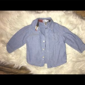 12-18 months Janie and jack boys button down shirt